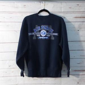 Air Force Sweatshirt Unisex Medium Mens Womens